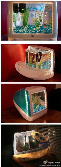 old Mac to fish tank