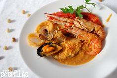 Cómo preparar una zarzuela de pescado y marisco. Receta fácil paso a paso. Un plato que en mi familia nos ha acompañado en muchas ocasiones especiales.