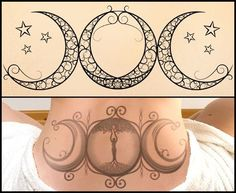 Beautiful Moon Tattoo Designs and Their Intriguing Meanings - Thoughtful Tattoos