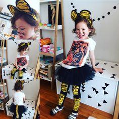 Tiger Costume  https://littlemulberryproject.wordpress.com/2016/11/16/tiny-tiger-costume/