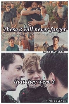 Minewtmas, the best trio of the maze runner trilogy! Maze Runner Quotes, Maze Runner Funny, Maze Runner Trilogy, Maze Runner Thomas, Maze Runner Cast, Maze Runner Movie, Maze Runner Series, Maze Runner The Scorch, The Scorch Trials