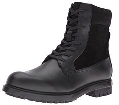 a1db0701106 Calvin Klein Men s Gable Leather Boot Calvin Klein Homme