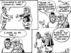 the most Syndicated Political/Editorial cartoonist in the East and Central Africa