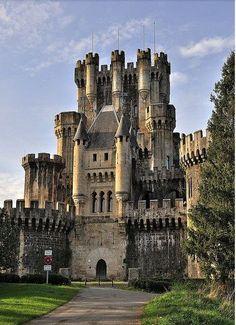 Castillo de Butron, Gatika, Basque Country, Spain