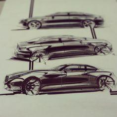 2013/ Sem 1 / viscom /sketches by Pranay Ratan, via Behance