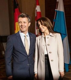 Prince Frederik & Princess Mary visit Germany Day - 2 May 20, 2015