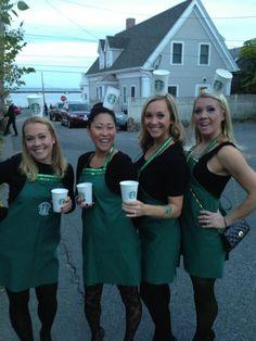 halloween costume baristas