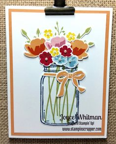 Jar of Love by Cookielady01 - Cards and Paper Crafts at Splitcoaststampers