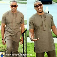 African Wear Styles For Men, African Shirts For Men, African Dresses Men, African Attire For Men, African Clothing For Men, African Style, Nigerian Men Fashion, African Men Fashion, Kaftan