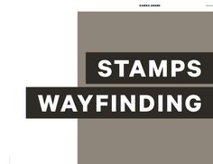 Wayfinding and Signage System for the Stamps School of Art & Design at the University of Michigan