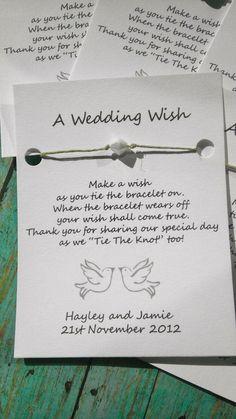$1.60 WeddingWishes - Wedding Favors