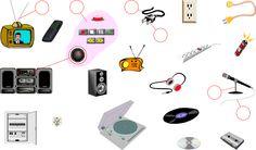 ELECTRONICS Vocabulary - Image and Sound -  (LanguageGuide.org)