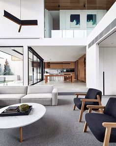 House Interior Design Ideas - Find the very best interior design concepts & inspiration to match your style. Browse through photos of decorating concepts & room colours to produce your best house. Modern House Design, Modern Interior Design, Interior Design Inspiration, Interior Architecture, Design Ideas, Australian Architecture, Design Trends, Modern Interiors, Minimalist Interior