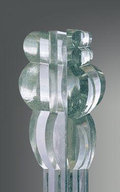Glass Sculpure by Stanislav Libensky / Jaroslava Brychtova