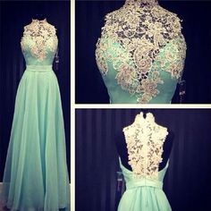 High Neck A-Line Prom Dresses,Long Prom Dresses,Cheap Prom Dresses, Evening Dress Prom Gowns, Formal Women Dress,Prom Dress