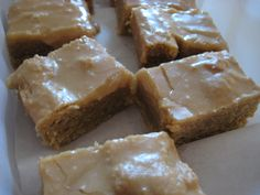 peanut butter bars recipe for schools | The Famous School Cafeteria Peanut Butter Bars | relished