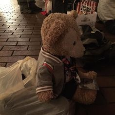 waiting for the parade #Disneyland by duffy_thebear