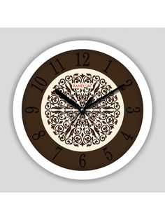 wooden designer analog wall clock buy online wooden designer analog wall clock at best price in - Designer Wall Clocks Online