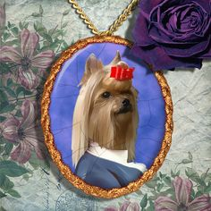 Yorkshire Terrier Jewelry Brooch Handcrafted by NobilityDogs Yorkshire Terrier, Pet Portraits, Brooch, Ceramics, Trending Outfits, Pets, Unique Jewelry, Handmade Gifts, Animals