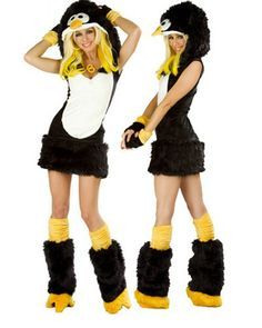 Lovely Girl Sweet Penguin Cosplay Costume