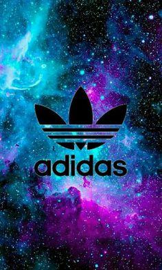 Adidas // Fond d& // Iphone Wallpaper // Tendance // Galaxie Etoiles - Adidas Iphone Wallpaper, Nike Wallpaper, Tumblr Wallpaper, Galaxy Wallpaper, Mobile Wallpaper, Wallpaper Backgrounds, Trendy Wallpaper, Adidas Backgrounds, Hand Pictures
