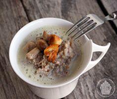 Sarasotto champignons de Paris et écume à la noisette