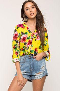 Floral Cabana Shirt