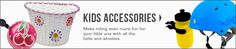 View our range of kids bike accessories at bikes.com.au!