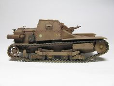 Italian made Tankette in Chinese service