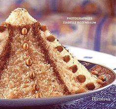 SEFA ( couscous de semoule fine au beurre ) au cannelle et amande