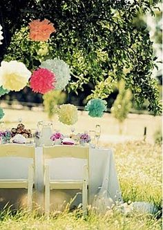 This would be fun as a get together or something... a fun formal picnic.