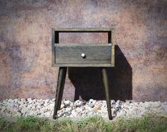 Mediados siglo mesitas muebles mesita de noche dormitorio de estilo escandinavo muebles pequeño mesa ALD-0015B