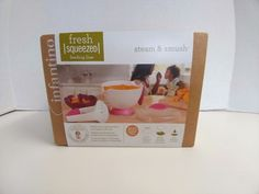 Infantino Fresh Squeezed Feeding Line Steam and Smush Baby Food Free Shipping #Infantino