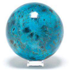 Speechless - Chrysocolla Sphere at Venusrox London
