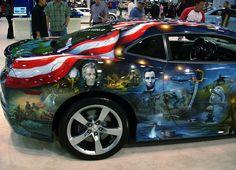 / Auto Show. Dallas, Texas.