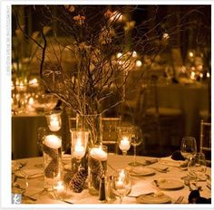 warm winter centerpieces