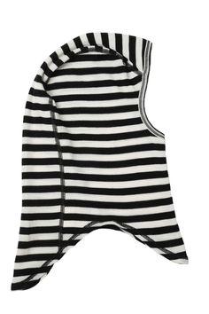 2110e80a29 balaclava Wide Stripes, Black White Stripes, Balaclava, Merino Wool, Kids  Outfits,