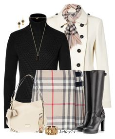 """""""Head to Toe Burberry"""" by kelley74 ❤ liked on Polyvore featuring Burberry and Marc by Marc Jacobs"""