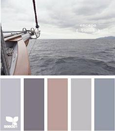 escape & sailing tones by Merete (*www.pinterest.com/AnkAdesign/palettes)