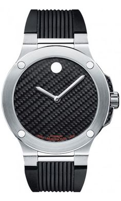 SE Extreme - Men's SE Extreme watch, stainless steel and black carbon fiber case, black genuine carbon fiber Horwitt Museum® dial with flat dot, textured black rubber strap, Swiss automatic movement Cool Watches, Watches For Men, Stylish Watches, Black Rubber, Luxury Watches, Swagg, Fashion Watches, Bracelets, Jewelry Watches