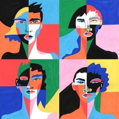 The research on the benefits of diversity does not bode well for our mostly white, mostly male administration. Diversity Poster, Cultural Diversity, Art And Illustration, Pop Art, Arte Pop, Art Graphique, Grafik Design, Art Plastique, Creative Art