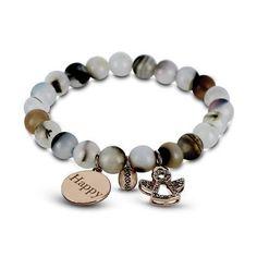Coco 88 Grey Bead Bracelet Finding Yourself, Beaded Bracelets, Beads, Grey, Jewelry, Beading, Gray, Jewlery, Jewerly