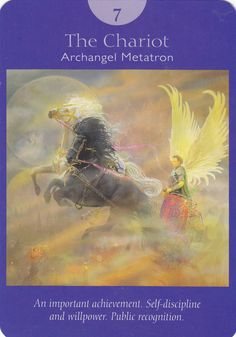 The Chariot - Angel Tarot