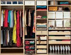 Plan doskonały - funkcjonalna szafa zamiast garderoby.