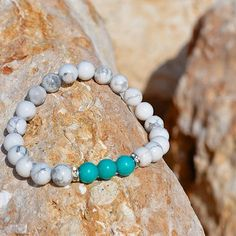 "Find out what gives you joy and do it.  The ""Pure Joy"" bracelet."