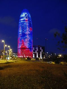 Agbar Tower - Barcelona Spain