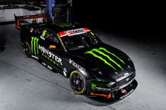 Tickford Racing has unveiled the Monster Energy Ford Mustang that Cameron Waters will campaign in the 2019 Virgin Australia Supercars Championship Monster Energy, Nitro Circus, Triumph Motorcycles, Ducati, Sport Cars, Race Cars, Motocross, Mopar, Australian V8 Supercars