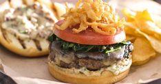 LongHorn Steakhouse's Gourmet Burger