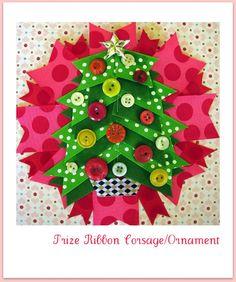 PrizeRibbon tree corsage or ornament