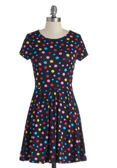 Always a Party Dress, #ModCloth This dress makes me smile when I look at it